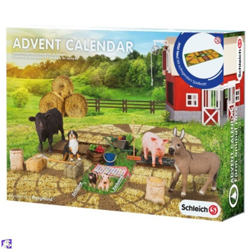 schleich adventskalender 2015 calendar template 2016. Black Bedroom Furniture Sets. Home Design Ideas